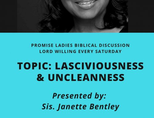 Topic: Lasciviousness & Uncleanness